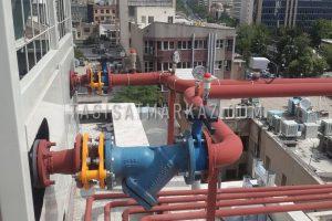 اجرای سیستم برق و مکانیک شرکت تجهیزات آتش نشانی نارفوم