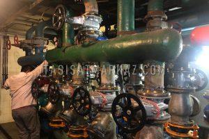 تعمیر و نگهداری همراه با بازسازی موتورخانه مرکزی برج بوستان 19 الهیه