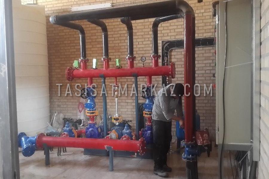 تعمیر و نگهداری برق و مکانیک کارخانه ARCO آجرنسوز امین آباد