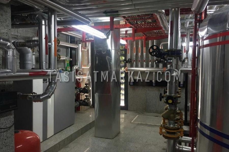 طراحی و اجرای کلیه سیستم های برق و مکانیک کارخانه آجرنسوز ARCO